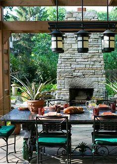 #outdoorfireplace