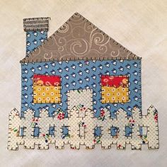 The Julys section of this years BOM is a sewing machine and little house blocks! They are so very cute! Both are appliqued onto a 12 1/2 block set on point. Come and join the fun as we work on the Quilt Doodle BOM 2017! This quilt is constructed in sections and when finished you will have a wonderful quilt. I will have a tutorial with the pattern included each month. The monthly patterns will be FREE during the month that they are announced, after that they will be available for a small...