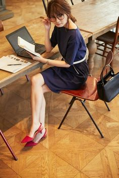 ジーユー リブロングT(5分袖)BA WOMEN(レディース) 公式オンラインストア(通販サイト)