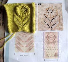 Netka's Sunflower baby skirt Ravelry: Netka's Sunflower Baby Skirt Two Color Knitting Patterns, Knitting Designs, Stitch Patterns, Knitting Stiches, Baby Knitting, Crochet Baby, Baby Girl Skirts, Baby Skirt, Ravelry