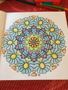 Mandala #tigerbook #coloring