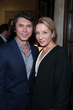 Lou Diamond Phillips and wife Yvonne   - TownandCountryMag.com