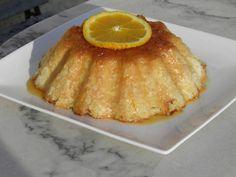 Dessert : Gâteau de riz crémeux à l'orange