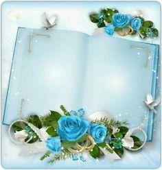 In♡Memory ~ Forever Written Pages Within My Heart ♡ ~ * ~ Treasured ☆ Keepsake ☆ Memories ~ * ~ Framed Wallpaper, Flower Background Wallpaper, Flower Backgrounds, Wedding Frames, Wedding Book, Wedding Cards, Rose Frame, Flower Frame, Boarders And Frames