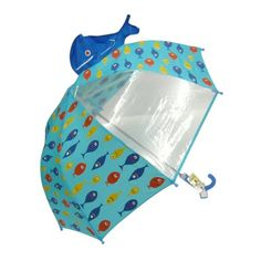 Key Stone see through umbrella Fish 45cm - Japan cool culture and products information. - DOMO ARIGATO JAPAN