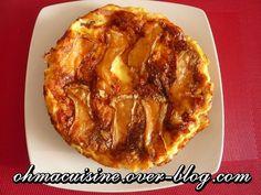 Quiche sans pâte au camembert et lardons