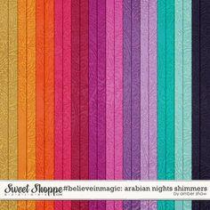 #believeinmagic: Arabian Nights Shimmers by Amber Shaw