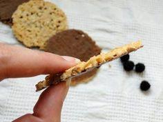 galletas florentinas sin azucar - perfil crujiente