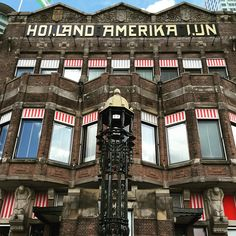 Hotel New York Rotterdam in the former head office of the Holland America Line. Photo: @ deweerdt77