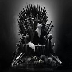 Fox of thrones by jamajurabaev on DeviantArt Jama Jurabaev, Fox Series, Various Artists, Detailed Image, Types Of Fashion Styles, Concept Art, My Arts, Deviantart, Cartoon
