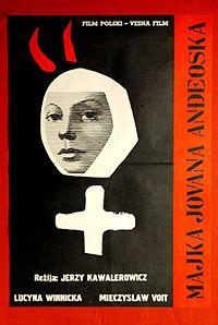 Madre Juana de los Ángeles. Película antecesora de lo que después se llamaría Nunsploitation, con posesiones diabólicas, Jerzy Kawalerowicz, 1961.