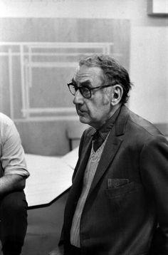 Henri Cartier-Bresson // MAN RAY, peintre et photographe américain, 1966