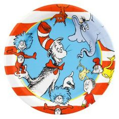 dr.suess table decorations   Dr. Seuss Theme Party Planning, Ideas, and Supplies