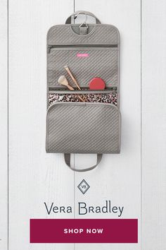 """It's easy to get the """"hang"""" of looking good (and staying neat) with this accessory. It's ideal for slipping things into your suitcase or hanging near the vanity. Travel Gifts, Travel Bags, Hanging Travel Organizer, Stress Relief Essential Oils, Travel Organization, Organizing Ideas, Travel Necessities, Sprays, Backpacks"""