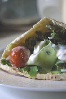 Lemon & Lime Thyme: Greek Chicken Gyros & Tzatziki Sauce