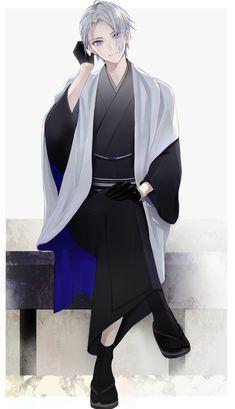 Anime Kimono, Anime Chibi, Manga Anime, Cool Anime Guys, Anime Boys, Anime Fight, Aesthetic Boy, Medieval, Anime Fantasy
