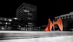 "Alexander Calders ""La Grande Vitesse"" - La Grande Vitesse — Wikipédia"