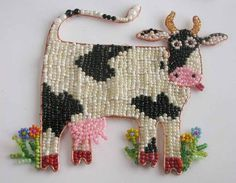 Beaded burenka, fish, butterfly ..... Discussion on LiveInternet - Russian Service Online Diaries
