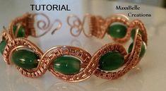 TUTORIAL - Braided Wire Weave Bracelet