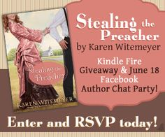 """Karen is """"kindling"""" the excitement for her novel with a Kindle Fire Giveaway and connecting with readers at her June 18th Facebook Author Chat Party!"""