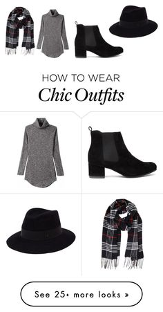 """Untitled #183"" by jacintavandongen on Polyvore featuring Humble Chic and Maison Michel"
