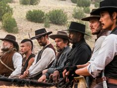 'Magnificent Seven' Photos: Denzel Washington, Chris Pratt in Remake | Variety
