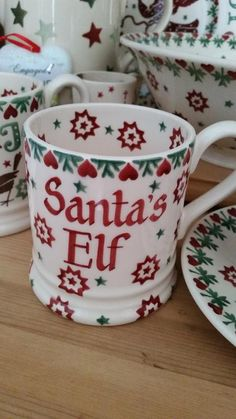 Personalised Joy Star Half Pint Mug at Emma Bridgewater 2015