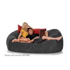 7.5ft Jaxx Lounger Microsuede Bean Bag Chair