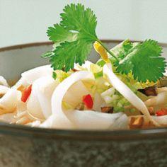 Thai rice noodle soup recipe
