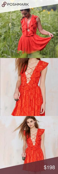 """HP The Jetset Diaries Forever Lace Up Dress Worn 2-3 times. In great condition. I'm 5""""3 and 110 pounds and it fits great. Actual dress pictured in cover photo. The Jetset Diaries Dresses Mini"""