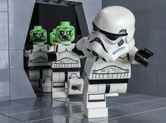 Who scared the stormie ??? #lego #starwars Lego Halloween