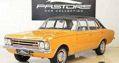 Gm Opala Gran Luxo 1974 Marrom Caju - Pastore Car Collection