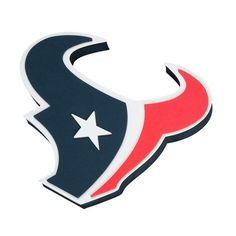 Houston Texans Sign 3D Foam Logo