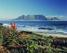 #Montagne de la table en #Afrique du sud