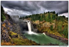 Setting for Detox Project:  Snoqualmie Falls, Washington state