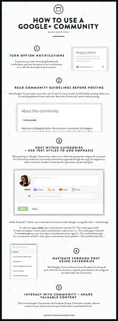 How To Use A Google+ Community | The Native New Yawker and some useful tips to make the text more compelling