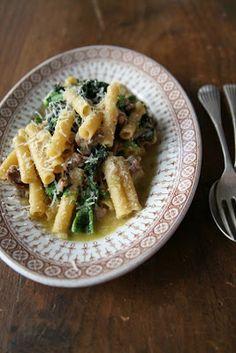 Lidia's Ziti w/Broccoli Rabe & Sausage