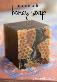 Handmade Honey Soap Recipe