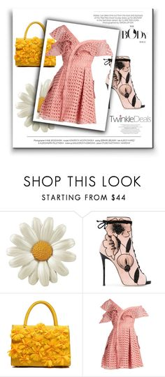 """Summer"" by women-miki ❤ liked on Polyvore featuring Giuseppe Zanotti, self-portrait and Kershaw"