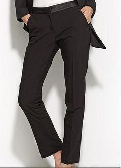 b8c9050f80d Pantalon Noir Droit femme habillé qualité SD16 NIFE Chic 36 38 40 42 44   Tailleurhabill
