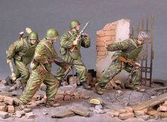 The Assault | Dioramas and Vignettes | Gallery on Diorama.ru