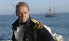 Captain Jack Aubrey from Master and Commander (Russell Crowe)