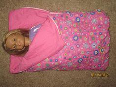 Pintresting Challenge: American Girl Doll sleeping bag