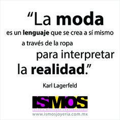 Karl Lagerfeld hablando del lenguaje de la moda // ISMOS Joyería