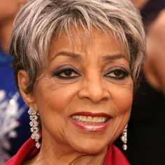 Ruby Dee is an American actress, playwright, screenwriter, activist, poet and journalist, perhaps best known for starring in the 1961 film A Raisin in the Sun. She's also known for her civic and activist work with husband Ossie Davis.