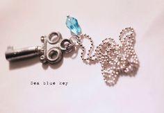 Old Skeleton Key Necklace #whitelilydesign $11