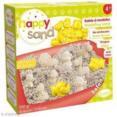 Compra nuestros productos a precios mini Kit Happy Sand 550 g - Moldes XL - Safari - Entrega rápida, gratuita a partir de 89 € ! Kit S, Safari, Mini, Magic Sand, Crafts For Kids, Products, Creativity