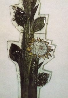 "Rut Bryk ""Sunflower"" 1965 for Arabia"