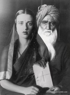 Amrita Sher-Gil | Amrita Sher-Gil with her father Umrao Singh Shergill)