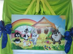 baby looney tunes baby shower party ideas baby shower parties shower